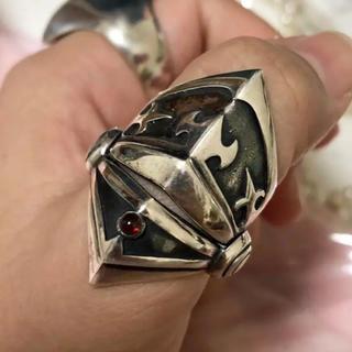 シルバーリング アーマーリング ヘルメット 仮面 騎士 silver925(リング(指輪))