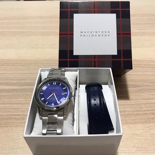 MACKINTOSH PHILOSOPHY - マッキントッシュフィロソフィー メンズ 腕時計 替えベルト付き クリスマス
