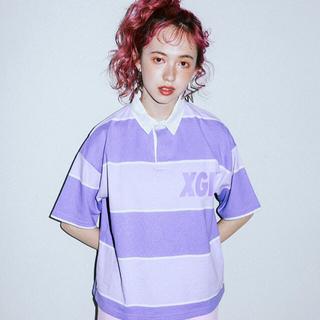 エックスガール(X-girl)のX-girl ラガーシャツ(ポロシャツ)
