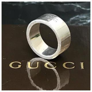 グッチ(Gucci)の❤️セール❤️ GUCCI グッチ 指輪 シルバー 11号 リング 箱 保存袋(リング(指輪))