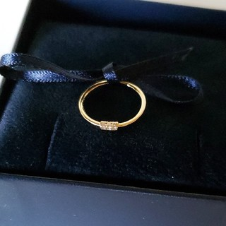 アーカー(AHKAH)のアーカー ホワイトナイト リング(リング(指輪))