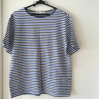 エディション(Edition)のエディション ボーダーTシャツ(Tシャツ/カットソー(半袖/袖なし))