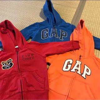 ギャップ(GAP)のGAP パーカー 95サイズ 3枚セット(ジャケット/上着)