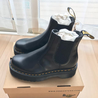 ドクターマーチン(Dr.Martens)の【Dr.Martens2976】BLACK 25cm(新品)(ブーツ)