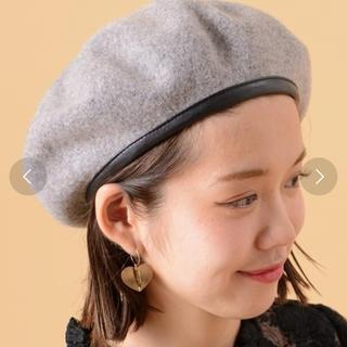 フーズフーチコ(who's who Chico)のchico♡ベレー帽(ハンチング/ベレー帽)
