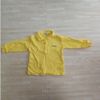 ムージョンジョン ポロシャツ 90 黄色