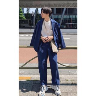 SUNSEA - yoke  1 tuck wide trousers John別注