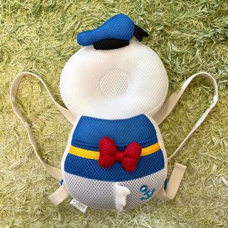 Disney - 美品!よちよちリュック ヘッドガード 頭保護 ドナルド