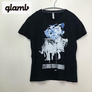 グラム(glamb)の【giamb】ビッグロゴ 英字 Tシャツ Sサイズ(Tシャツ/カットソー(半袖/袖なし))