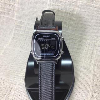 カシオ(CASIO)の【海外モデル 反転液晶 チプカシ】カシオ腕時計 CASIO  ブラック液晶モデル(腕時計)