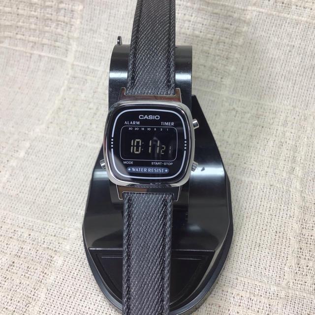 CASIO - 【反転ブラック液晶 海外モデル】チプカシ CASIO カシオ腕時計 希少モデルの通販