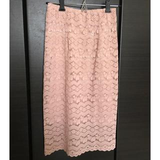 スニープディップ(Sneep Dip)のピンクタイトスカート(ひざ丈スカート)
