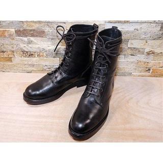 ポロラルフローレン(POLO RALPH LAUREN)のラルフローレン プレーントゥアンクルブーツ 黒 30,531cm(ブーツ)