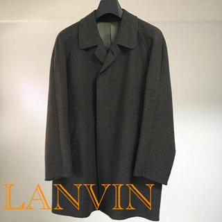 ランバン(LANVIN)のランバン アンゴラ・モヘア・シルク混ウール製コート(ステンカラーコート)