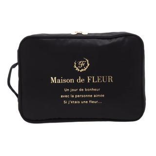 メゾンドフルール(Maison de FLEUR)のトラベルシューズケース(旅行用品)