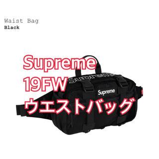 Supreme - Supreme 19FW waist bag ウエストバッグ 黒 black