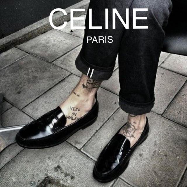 celine(セリーヌ)のセリーヌ エディ 19AW  ルコ  纏足! パンプス! メンズの靴/シューズ(その他)の商品写真