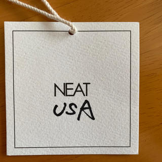 COMOLI - NEAT USA ブラック  サイズ34