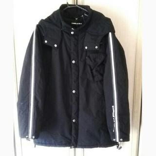 COMME CA MEN - 本日限り●COMME  CA袖ロゴライン入りジャケット●メンズLサイズ