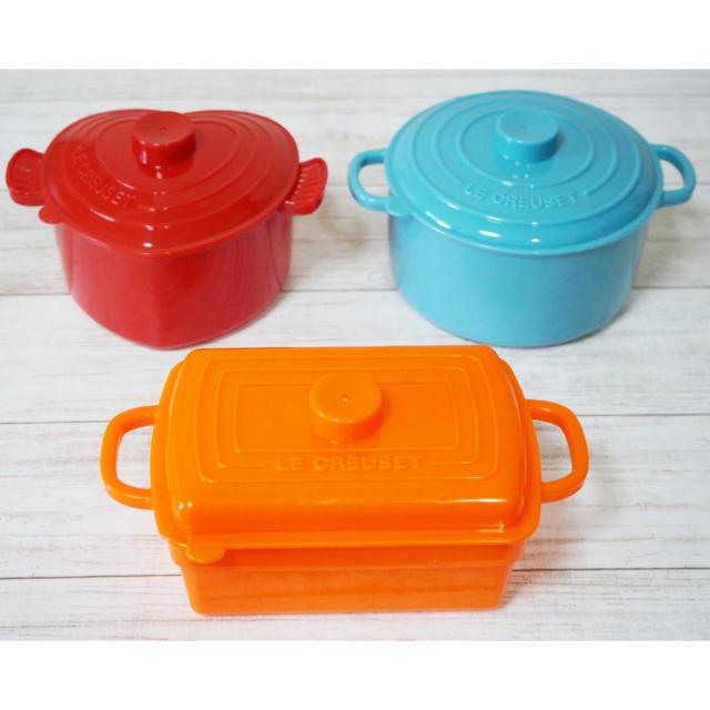 LE CREUSET(ルクルーゼ)のBOSS×ル・クルーゼ フードボックス3個セット インテリア/住まい/日用品のキッチン/食器(容器)の商品写真