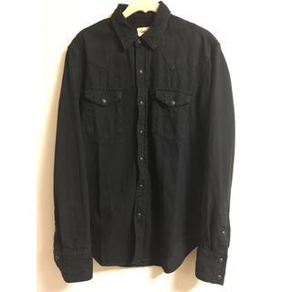 ギャップ(GAP)のGAP メンズシャツ ネイビー(シャツ)