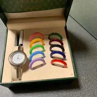 Gucci - GUCCIチェンジベゼル腕時計
