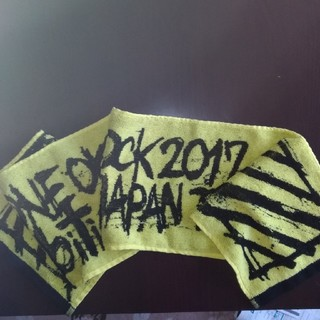 ワンオクロック(ONE OK ROCK)のONE OK ROCK ツアータオル(ミュージシャン)