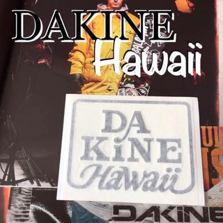 Dakine - DAKINEダカインハワイUS限定型抜きダイカットステッカーblack