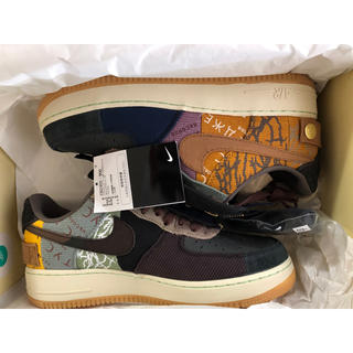 NIKE - 込・27㎝ TRAVIS SCOTT NIKE AIR FORCE 1 LOW