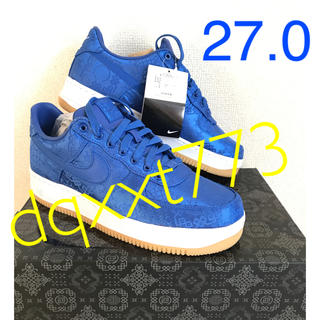 NIKE - NIKE CLOT AIR FORCE 1 PRM 27 CJ5290-400