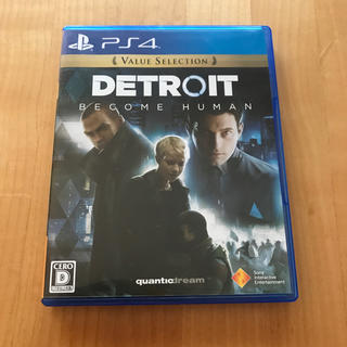 プレイステーション4(PlayStation4)のDetroit: Become Human(Value Selection) P(家庭用ゲームソフト)
