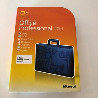 マイクロソフト(Microsoft)のオフィスプロフェッショナル2010 DVD(PC周辺機器)