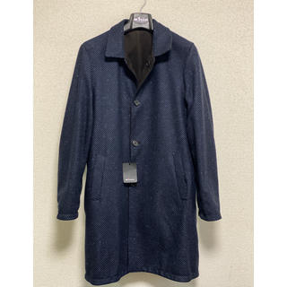 キトン(KITON)のゆーぴ様 専用 KITON カシミア レザー リバーシブル コート 50(チェスターコート)