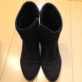 セシルマクビー(CECIL McBEE)のショートブーツ(ブラック)(ブーツ)