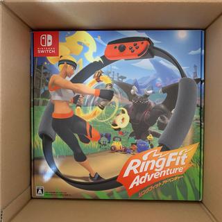 ニンテンドースイッチ(Nintendo Switch)の2台セット リングフィットアドベンチャー Nintendo Switch(家庭用ゲームソフト)