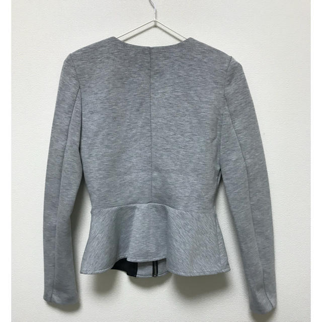 H&M(エイチアンドエム)のスウェットジャケット レディースのジャケット/アウター(ノーカラージャケット)の商品写真
