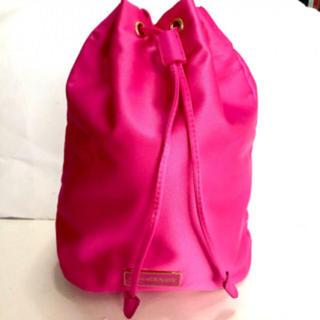 プラダ(PRADA)のプラダ ピンク 巾着 巾着 ポーチ 新品未使用 化粧ポーチ prada (ポーチ)