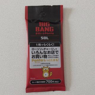 ビッグバン(BIGBANG)のBIGBANG SOL Pontaカード(アイドルグッズ)