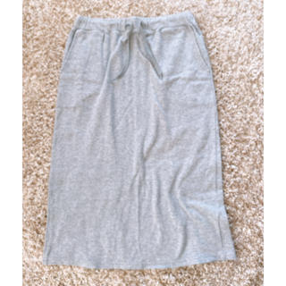 アバハウス(ABAHOUSE)のスカート グレー 灰色(ロングスカート)