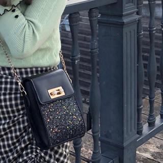 TODAYFUL - 【美品】bibiy glittery bag