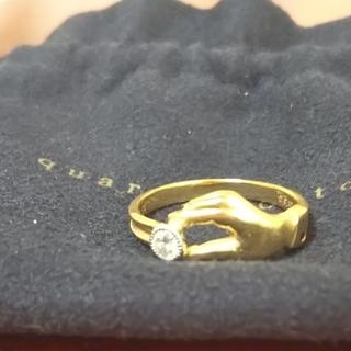アガット(agete)のクアラントット お値下げ最終です☆ダイヤモンドリング(リング(指輪))