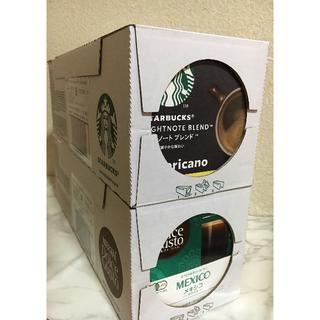 Nestle - ネスカフェ ドルチェ グスト スターバックス ブレンド×3箱、メキシコ×3箱