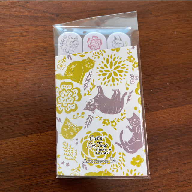 AfternoonTea(アフタヌーンティー)のAfternoon Tea 付箋 インテリア/住まい/日用品の文房具(ノート/メモ帳/ふせん)の商品写真