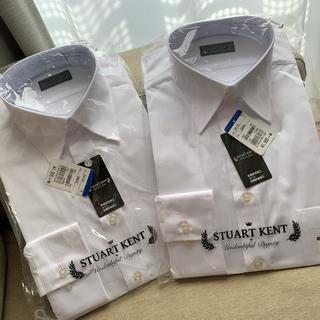アオキ(AOKI)の白ワイシャツ 男性用 2着(シャツ)