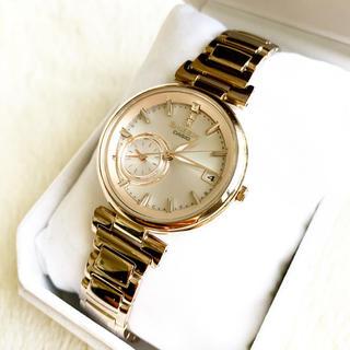 カシオ(CASIO)の美品☆ カシオ SHEEN ソーラー電波 定価49500円(腕時計)