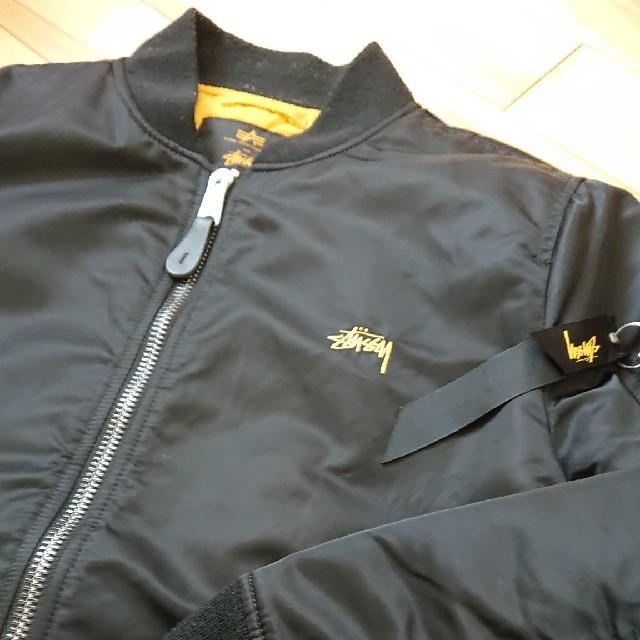 STUSSY(ステューシー)のSTUSSY ×ALPHA 35周年記念 MA-1 M メンズのジャケット/アウター(フライトジャケット)の商品写真