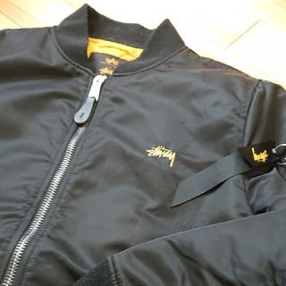 ステューシー(STUSSY)のSTUSSY ×ALPHA 35周年記念 MA-1 M(フライトジャケット)