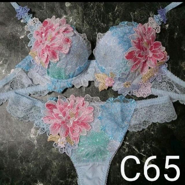 Wacoal(ワコール)のサルート☆店舗限定☆  08G  C65 & ソングM レディースの下着/アンダーウェア(ブラ&ショーツセット)の商品写真