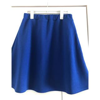 【美品】ロイヤルブルースカート(ひざ丈スカート)