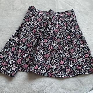 ミックスエックスミックス(mixxmix)の韓国通販 mixxmix 花柄フレアスカート(ひざ丈スカート)